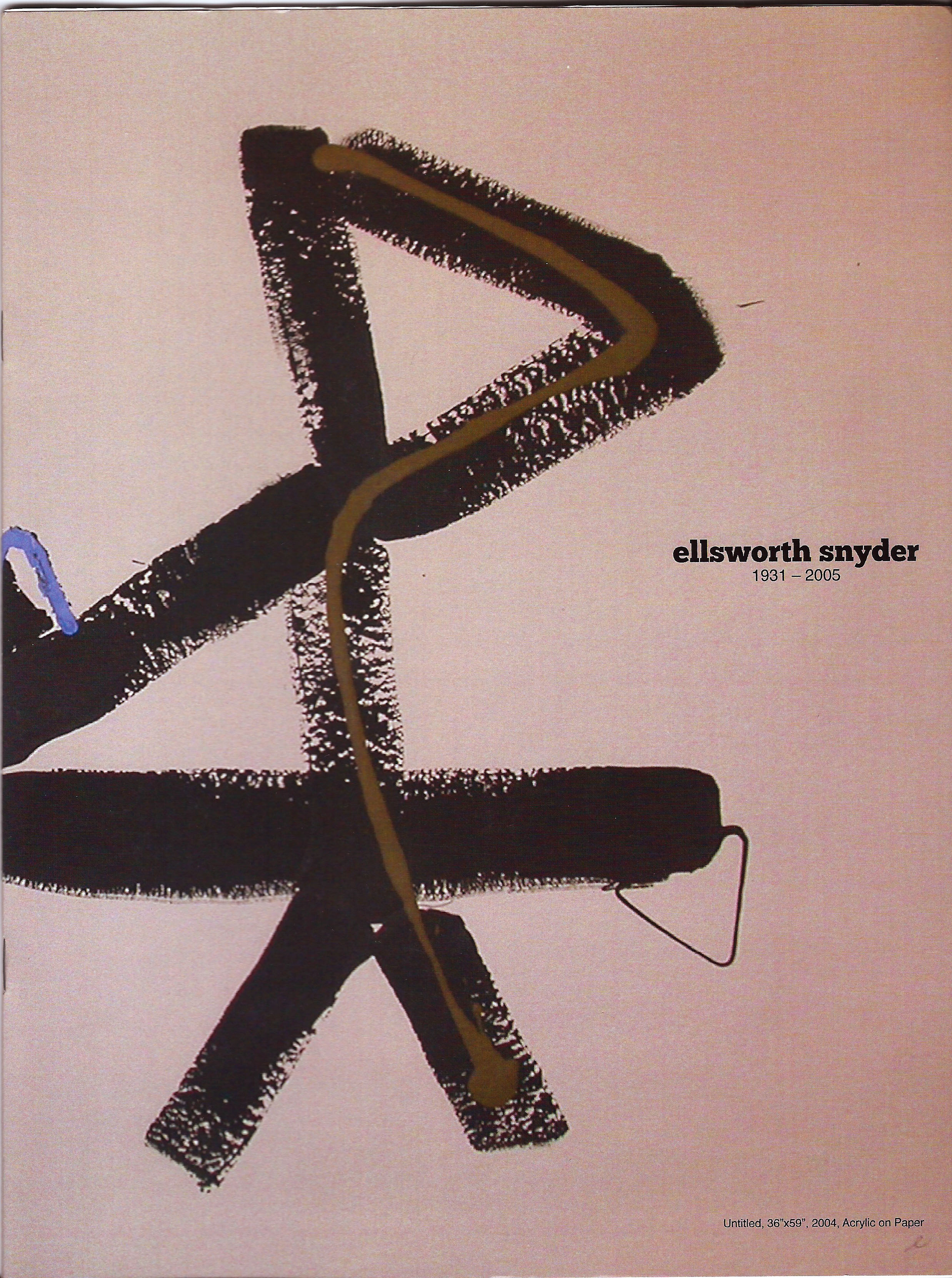 1931 - 2005 | ellsworth snyder