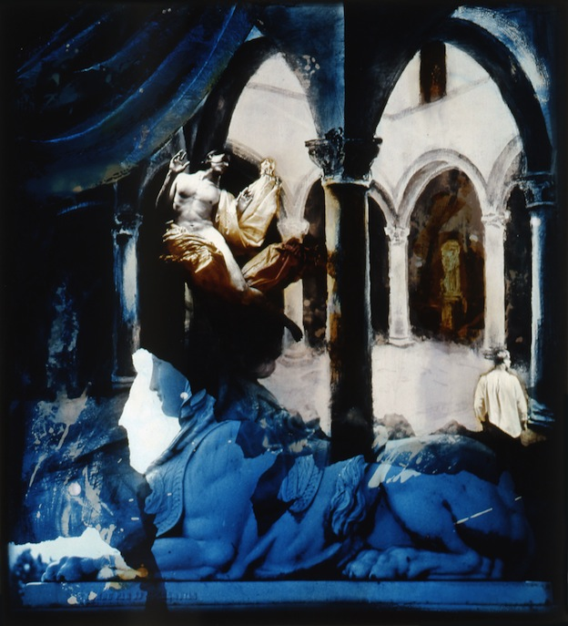 """""""Sphinx and Angel,"""" 1995, c-print, 13x11 in."""