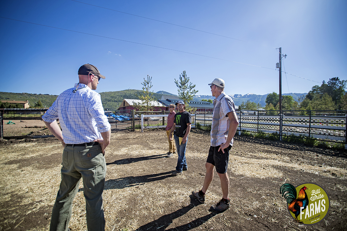 Park City Municipal's City Council and Sustainability Department tours our ranch.