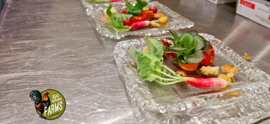 Salad: Heirloom Tomatoes