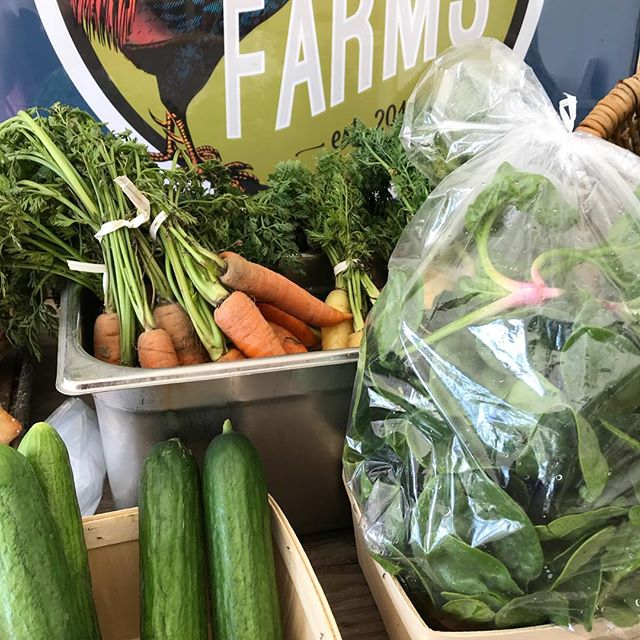Don't forget to stop by our NEW #FarmStand!! Friday's 4-6 and Saturday's 10-2 with new farm fresh items popping up weekly, plus our delicious eggs@🥚🥕🥒