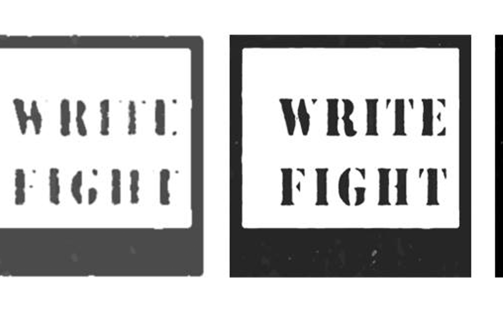 WRITE FIGHT I