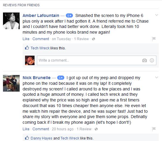 Tech Wreck Facebook Review Preview