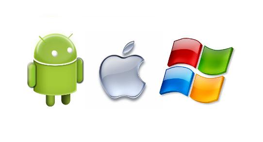 Apple Android Windows