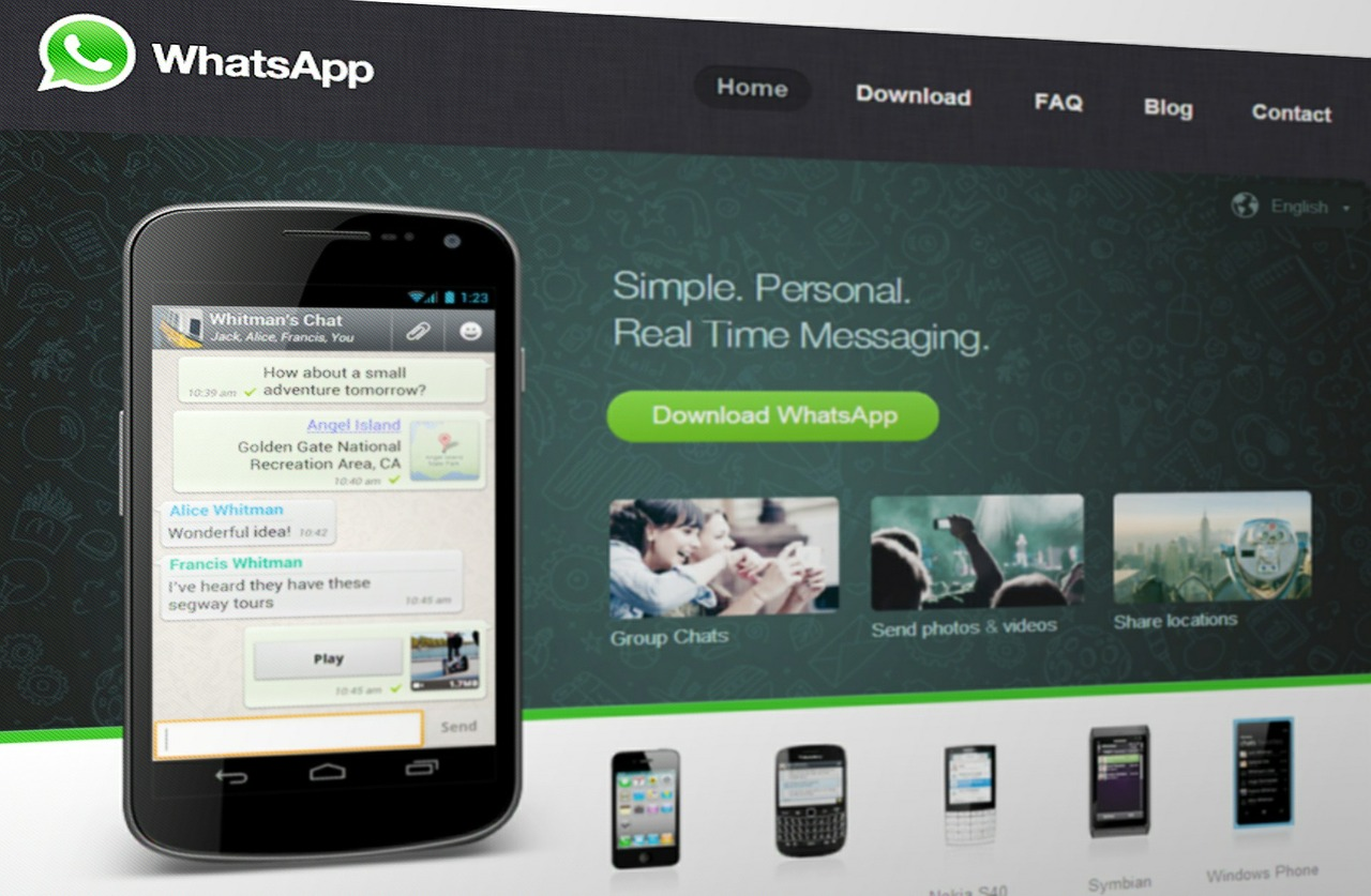 WhatsApp: no longer just for your mobile device.