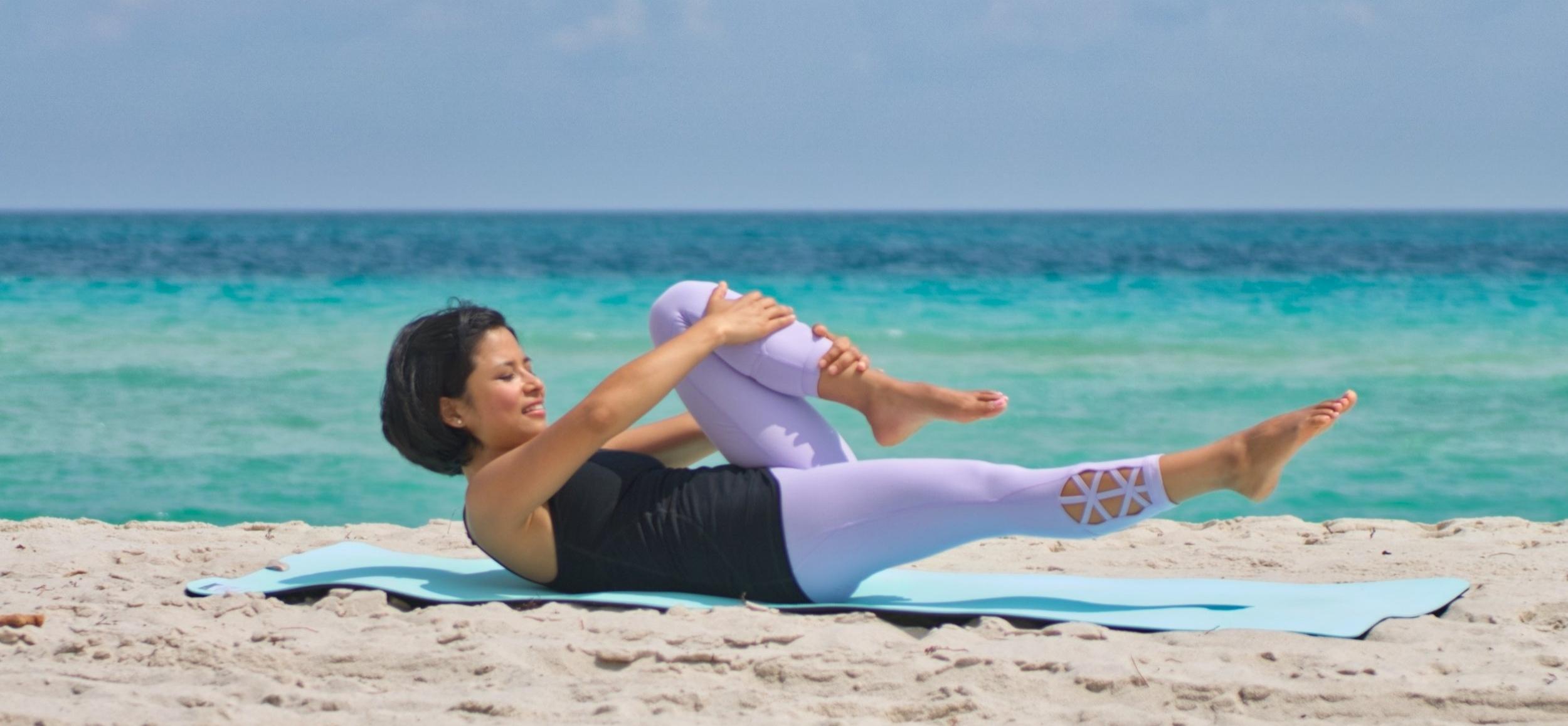 single leg stretch pilates