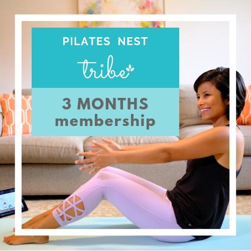 Pilates Nest Tribe 3 months Membership  $59