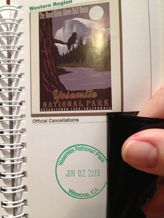 Yosemite National Park - Passport Stamp