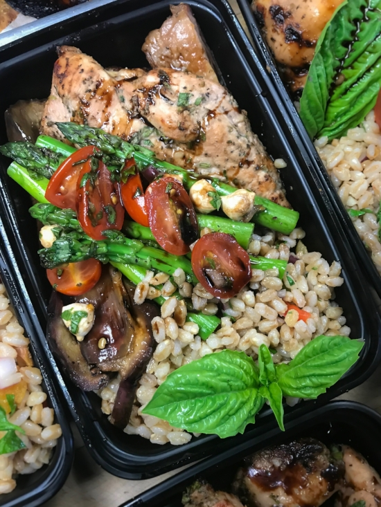 Find Italian Farro dishes on our winter meal prep  menu