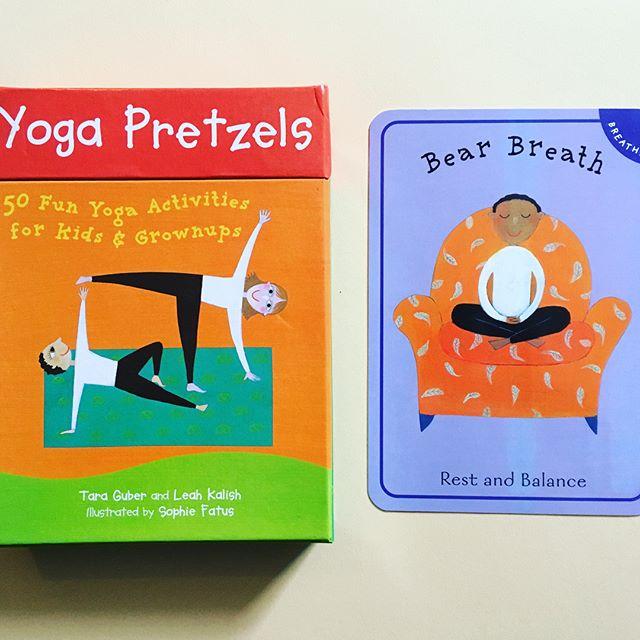 Just got this gem in the mail! 🧘♀️🧘♂️❤️🧡💛💚💙💜🖤✌️#mondaymARTtra #JUSTBREATHE #yogapretzels #bearbreath #breathe #mindfulness #peace #zen #forkids #foradults #foreveryone #meditation #stressfree #artpiques #theartofzen #yoga #yogi #balance #happymonday