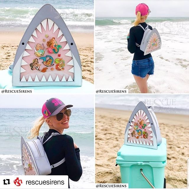 #Repost @rescuesirens (@get_repost) ・・・ It's #KawaiiSharkItaBag #giveaway time! 💖🦈💖  In order to fund mass production of these bags, we need to sell a lot of pre-orders; in order to sell a lot of pre-orders, we need to spread the word! That's what this giveaway is all about — well, that, and giving one lucky, randomly-selected shark fan a free bag. 🥳 If you've already pre-ordered, 1) you're awesome, and we love you, and 2) you can still enter, with the option to receive a refund on your purchase OR a second bag. Sound good?  Here's how to enter:  1. You must be following @rescuesirens. 2. Like AND comment (the shark emoji 🦈 or your favorite shark species) on THIS POST to enter your name 2 times. 3. Tag a shark-loving friend ON THIS POST for 1 entry per friend, up to 5 entries — but celeb/brand accounts don't count! 4. Share this post via your Stories for 3 entries. 5. Repost (via a reposting app or screenshots) to your PUBLIC account and tag @rescuesirens for another 5 entries.  All in all, you have the opportunity to put your name in the hat a total of 𝟏𝟓 𝐭𝐢𝐦𝐞𝐬! The more entries you have, the better your chance to win.  Don't forget to tag and/or mention @rescuesirens when you reshare so we can count your entries! We'll also be checking the #kawaiisharkitabag hashtag.  Our giveaway will conclude this Sunday, August 4th, at 6:00 PM PDT (that's Disneyland time), with the winner randomly selected and announced after that. The fine print: we're not associated with Instagram in any way, shape, or form; no purchase necessary; open worldwide; must be 18+ to enter. All pins pictured are illustrated by @kelleeart and are not included (so you should totally follow her and collect all of them!).  Good luck, and best fishes! 🦈  #rescuesirens #ita #itabag #sharks #sharkweek #babyshark #pins #lapelpins #enamelpins #pingame #pindisplay #pincollectors #pincollection #backpack