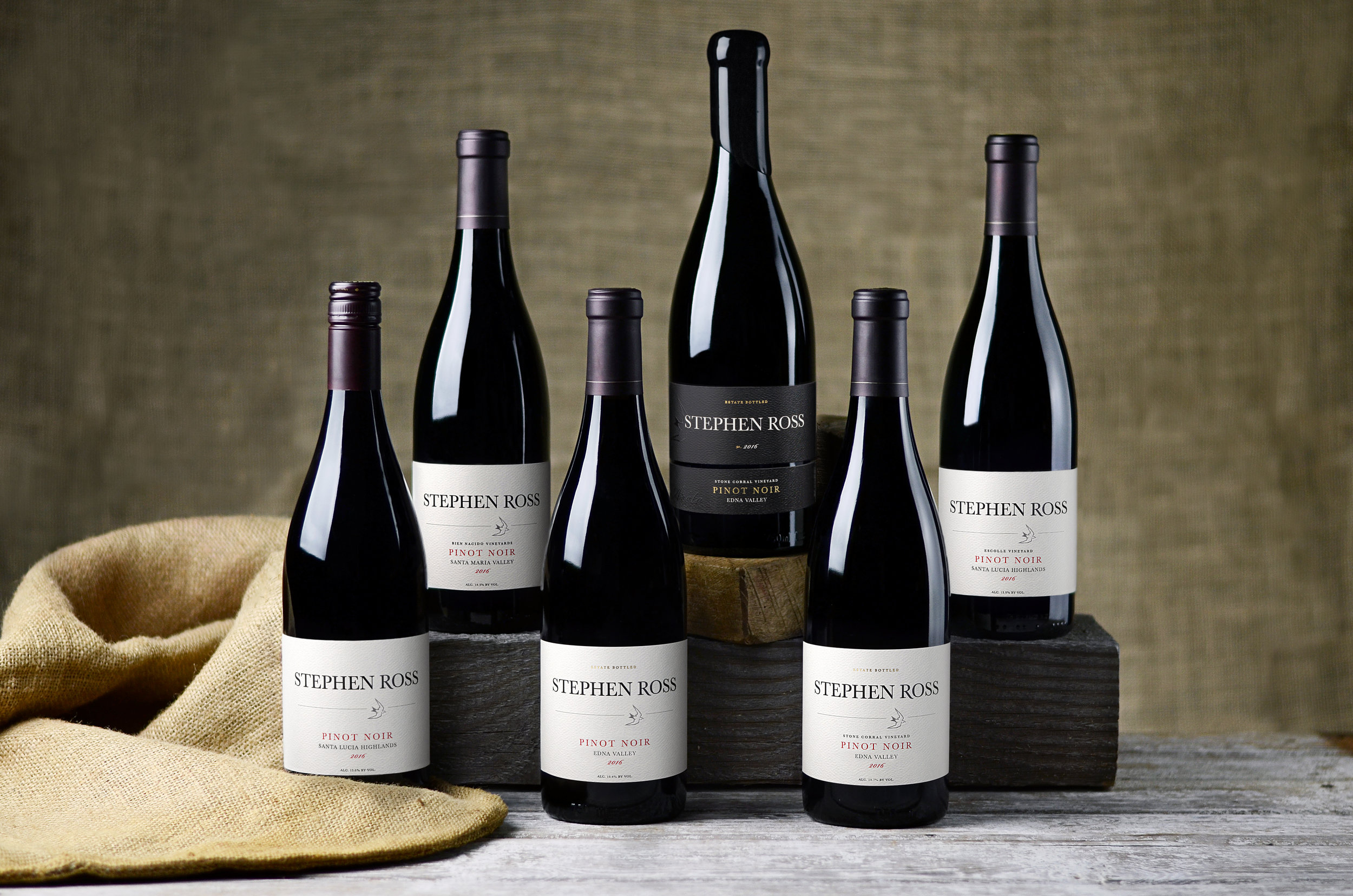 The six 2016 Pinot Noirs