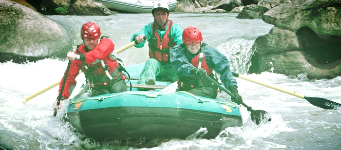 White Water Rafting at the Big South Fork in Tennessee