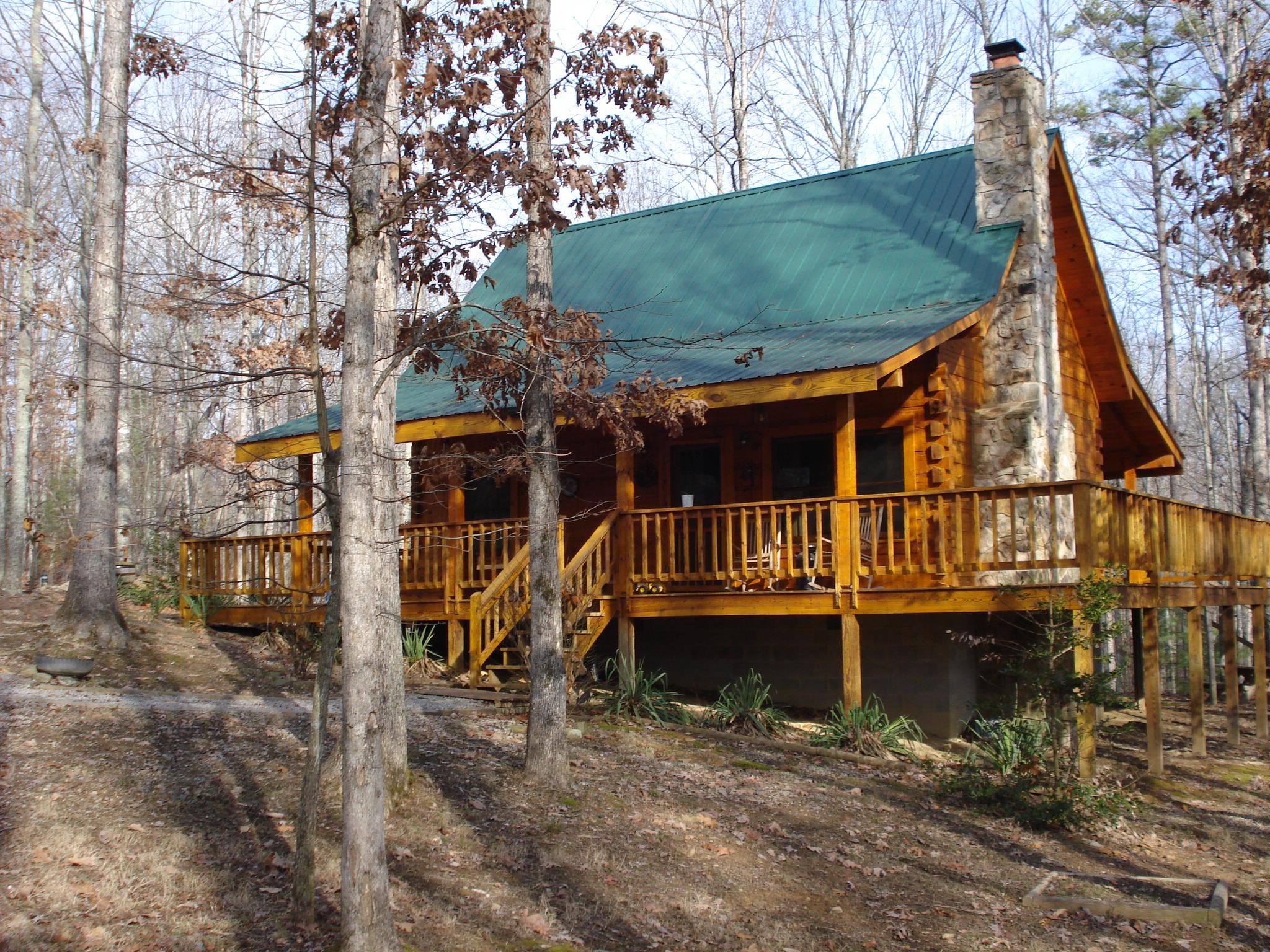 Turkey Scratch cabin