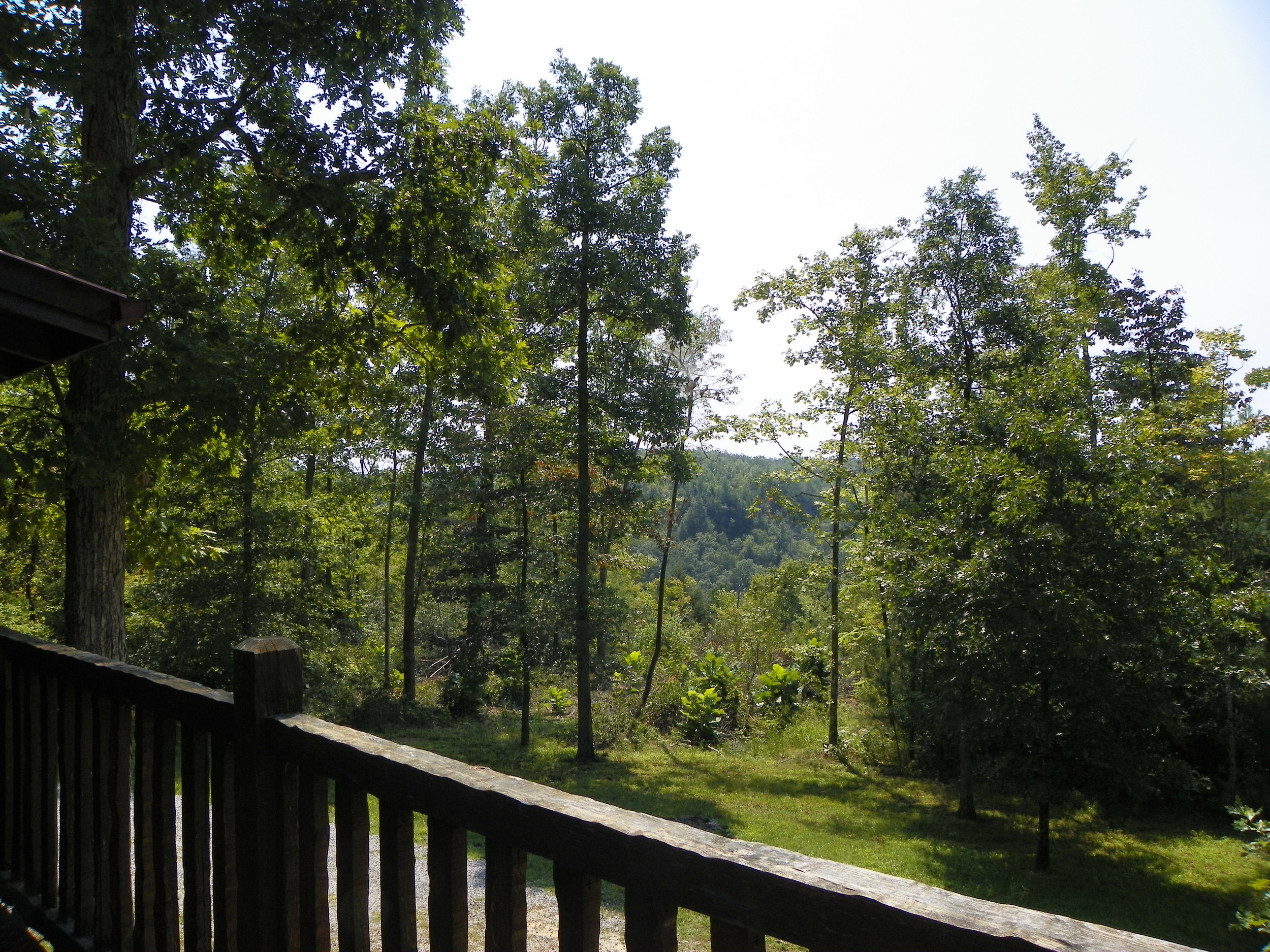 Laurel Bluff deck view
