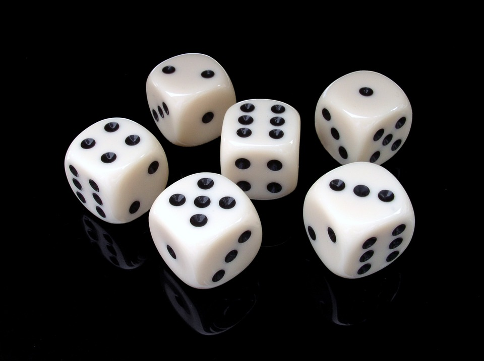 dice for family game night