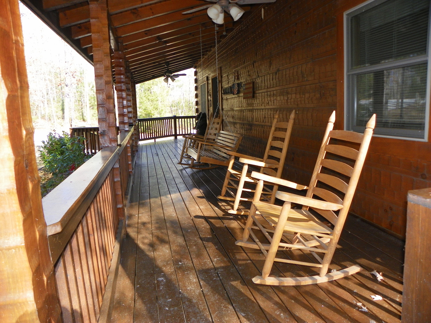 cabin rocking chairs