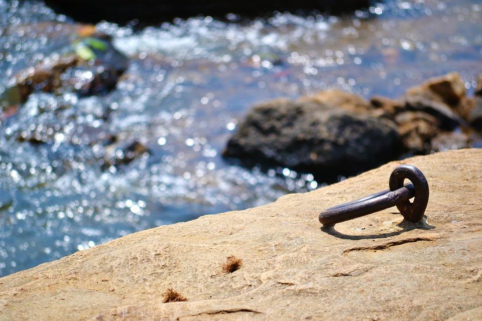 Rock-climbing anchor