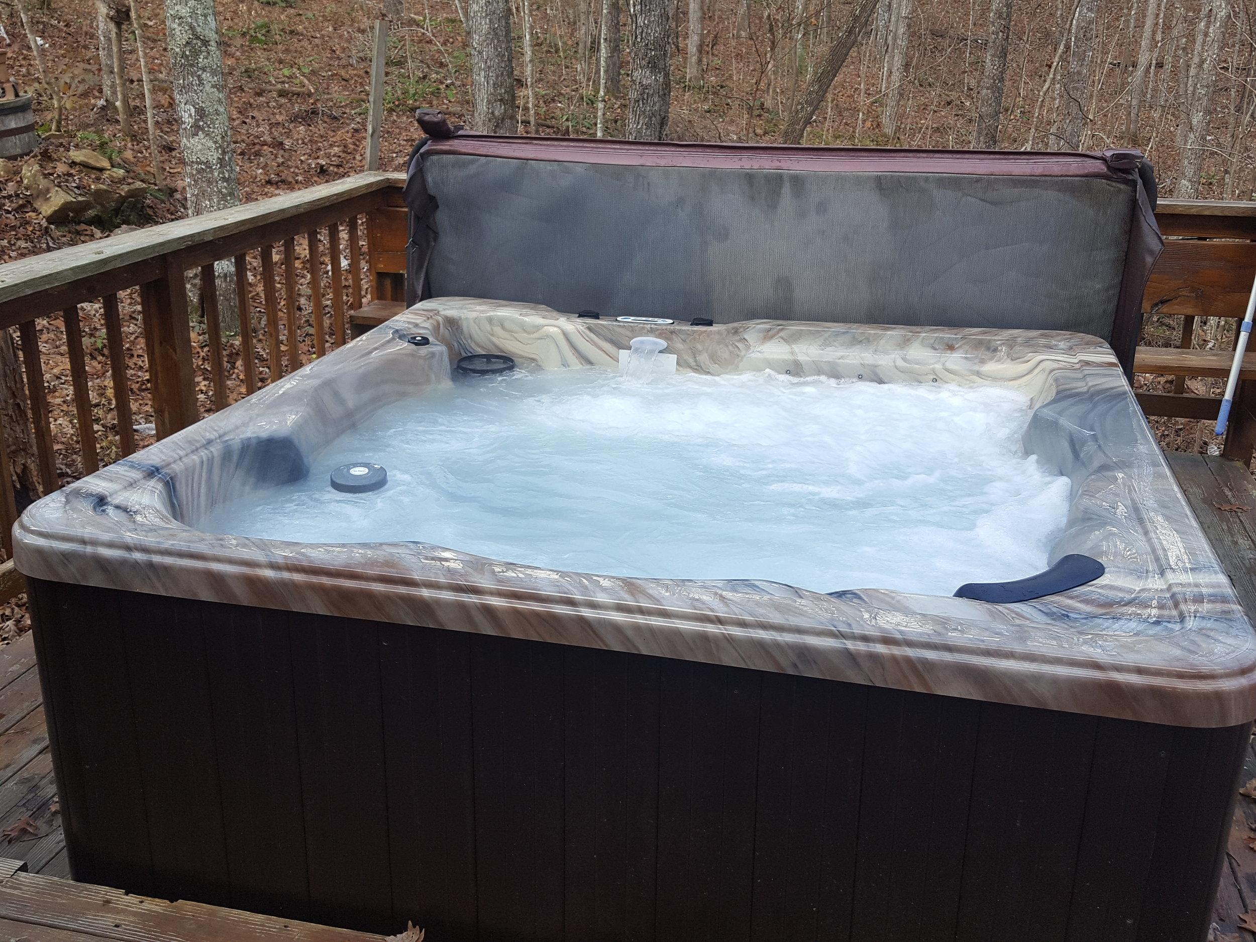 Turkey Scratch Hot Tub