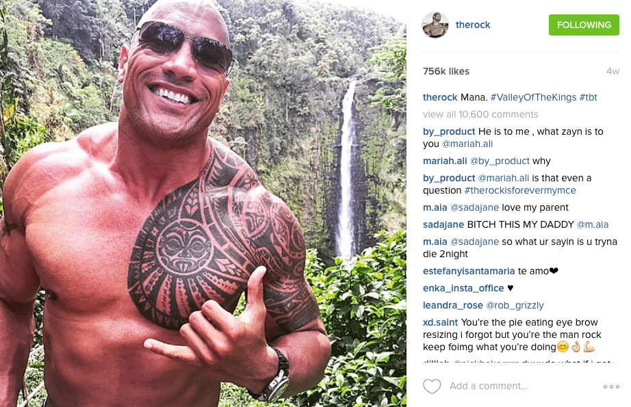 The Rock Travels
