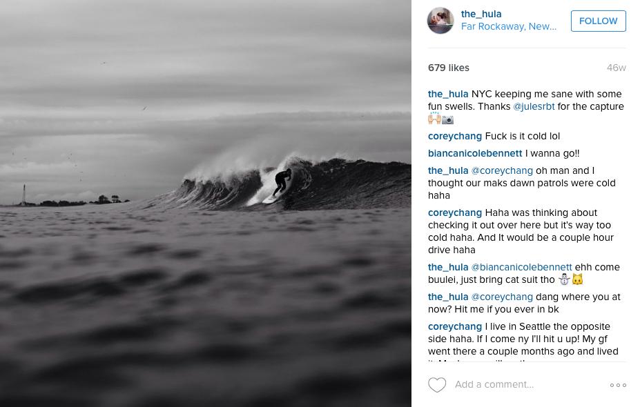 Hula Surfing