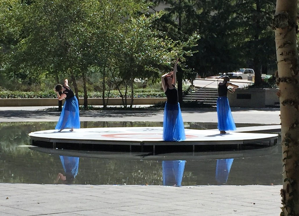 Downtown Replay 2016 - Dancers at Ilus Davis Park in Downtown KCMO