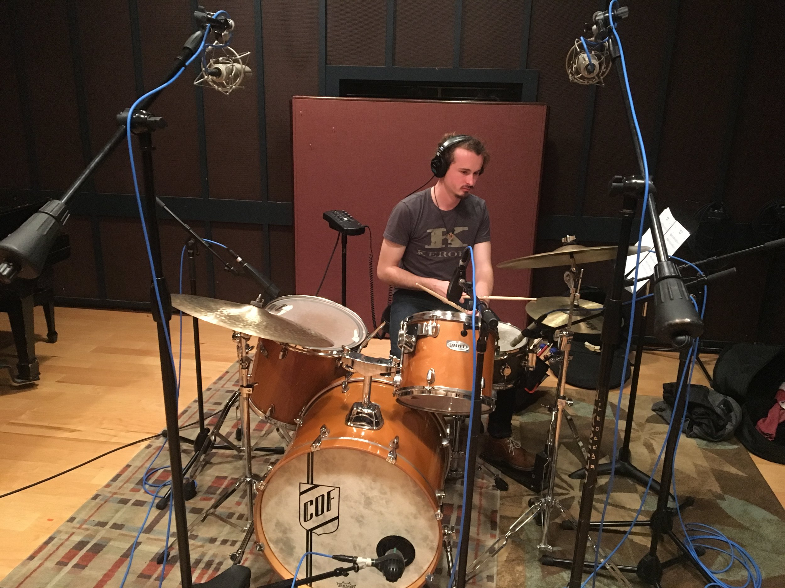 Recording session for Vietgone  -