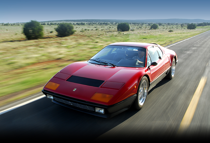Ferrari 512BB Restomod with high performance engine, brakes, wheels and suspension