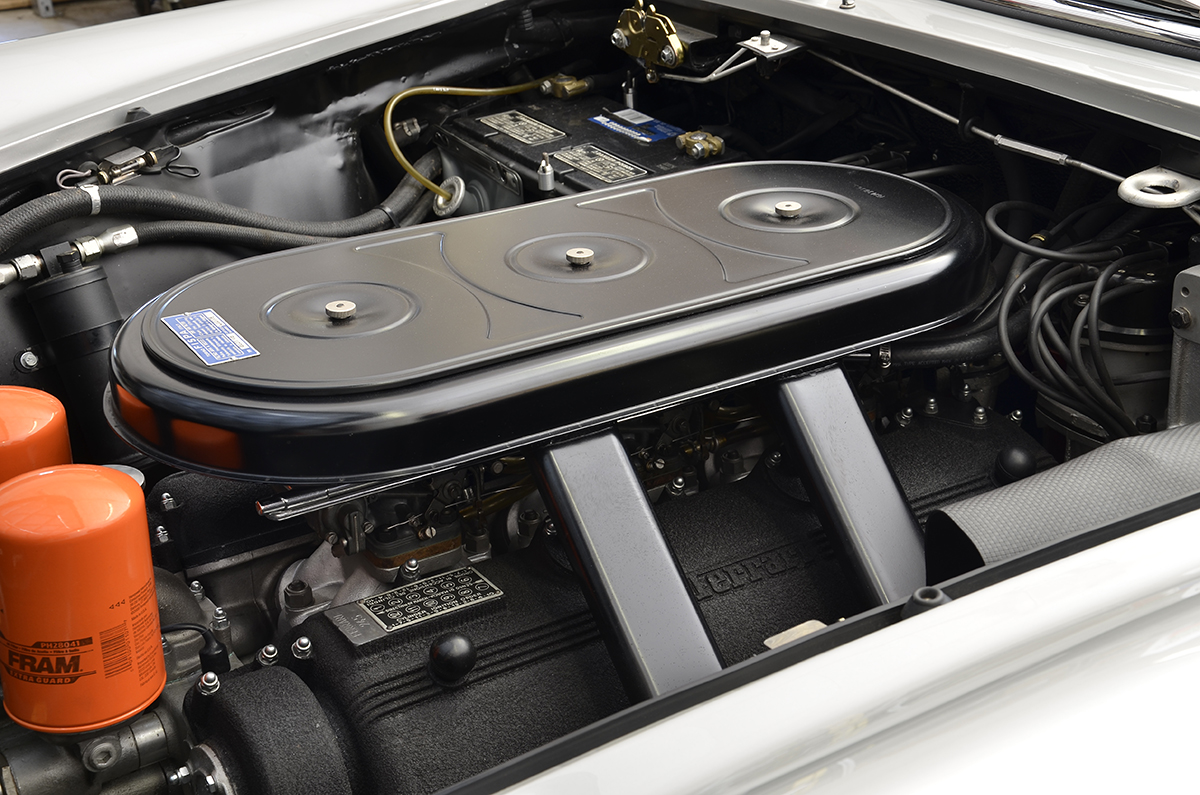 Ferrari 365 GTC with rebuilt, high performance V12 engine