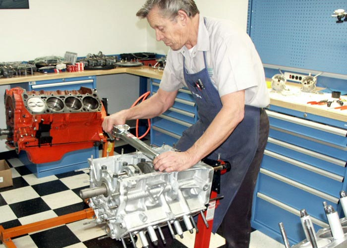 Ferrari 308 GT4 high performance engine rebuild, development and upgrade