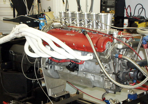 Ferrari 312P V12 High Performance Engine Rebuild