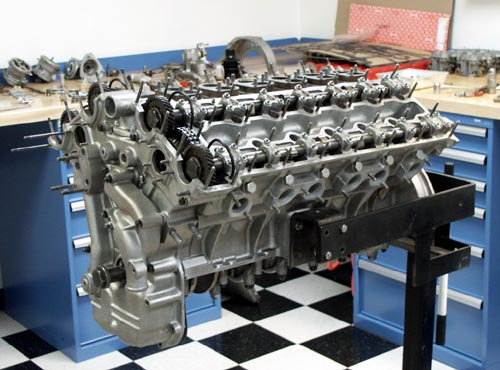 Ferrari Daytona 365 GTB/4 V12 High Performance Engine Rebuild