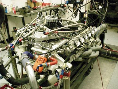 Ferrari F1 312B2 V12 High Performance Racing Engine Rebuild