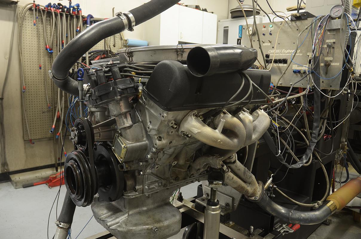 Carobu Engineering: Ferrari and High Performance Engine Specialists, high performance engine building dyno testing and tuning  Mercedes Benz 560SL High Performance Engine Development and Rebuild