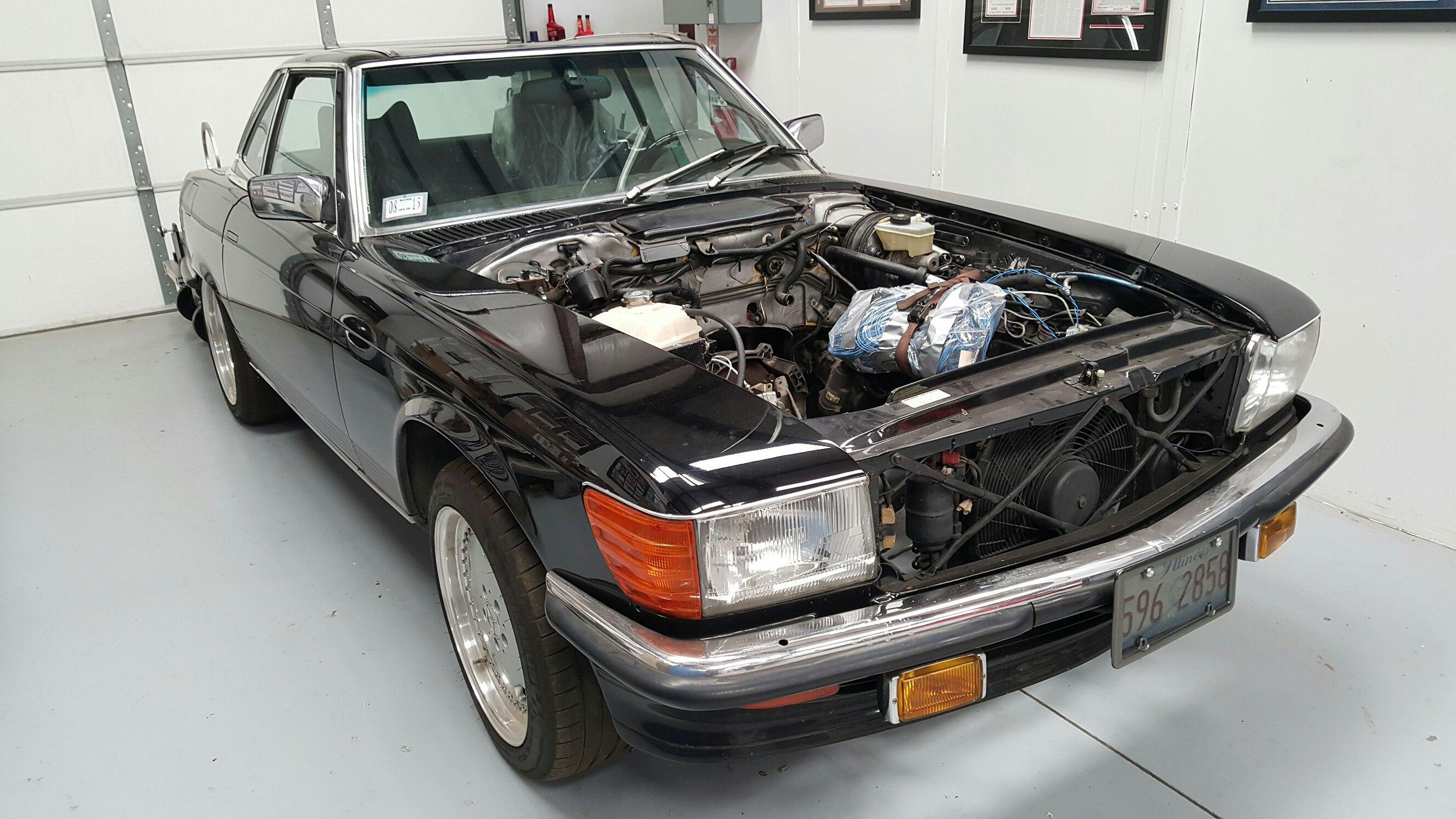 1986 Mercedes Benz 560sl Carobu High Performance Parts And Accessories For Ferrari