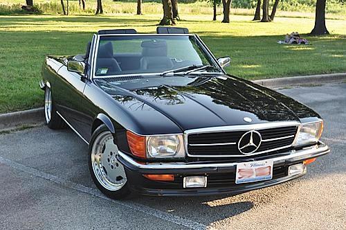 1986 560 SL (5.8L EFI)