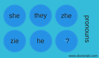 Here are some pronoun options.