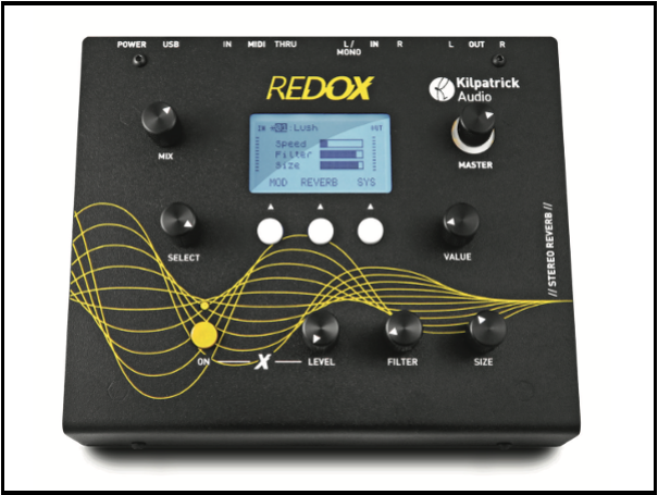 REDOX - STEREO REVERB