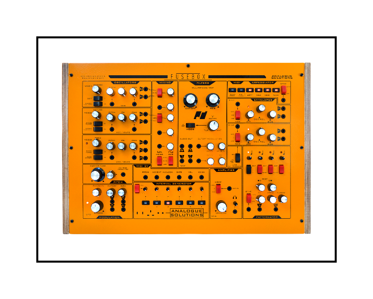 Fusebox - 3 VCO Monosynth with PatternatorMSRP:$1,599