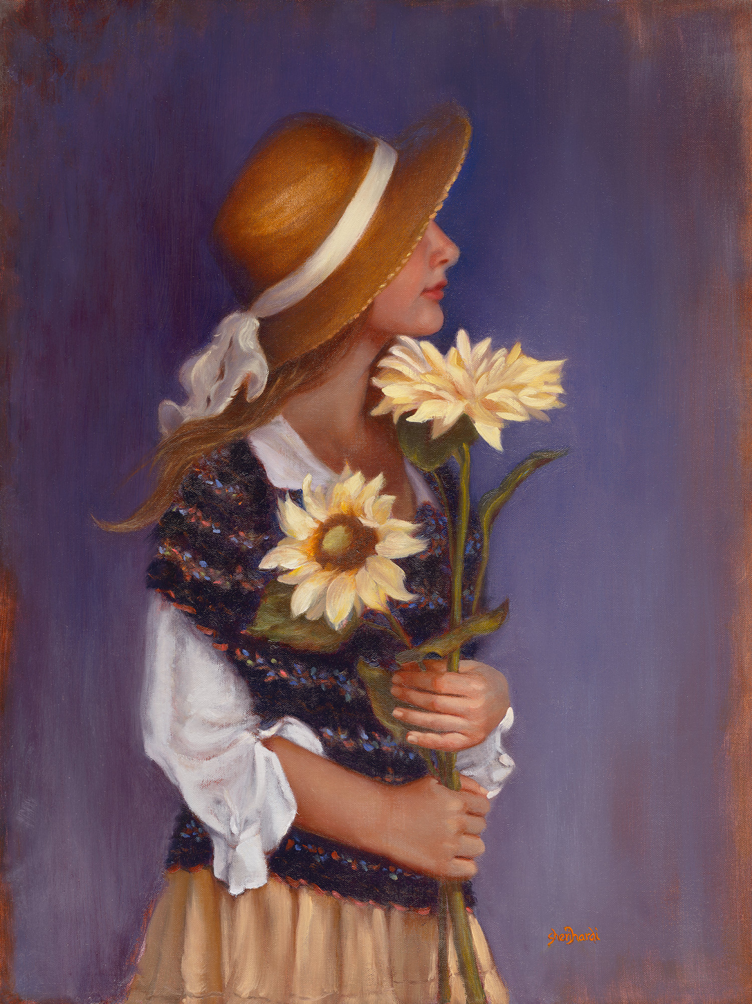 Garden Treasures  - 24 x 18 Oil on Linen