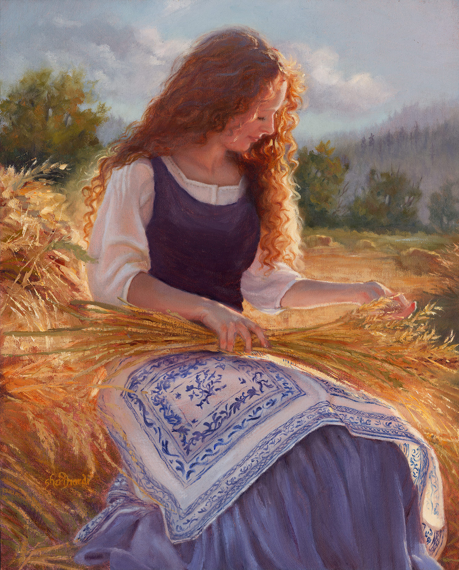 Fields of Gold  - 20 x 16 Oil on Linen