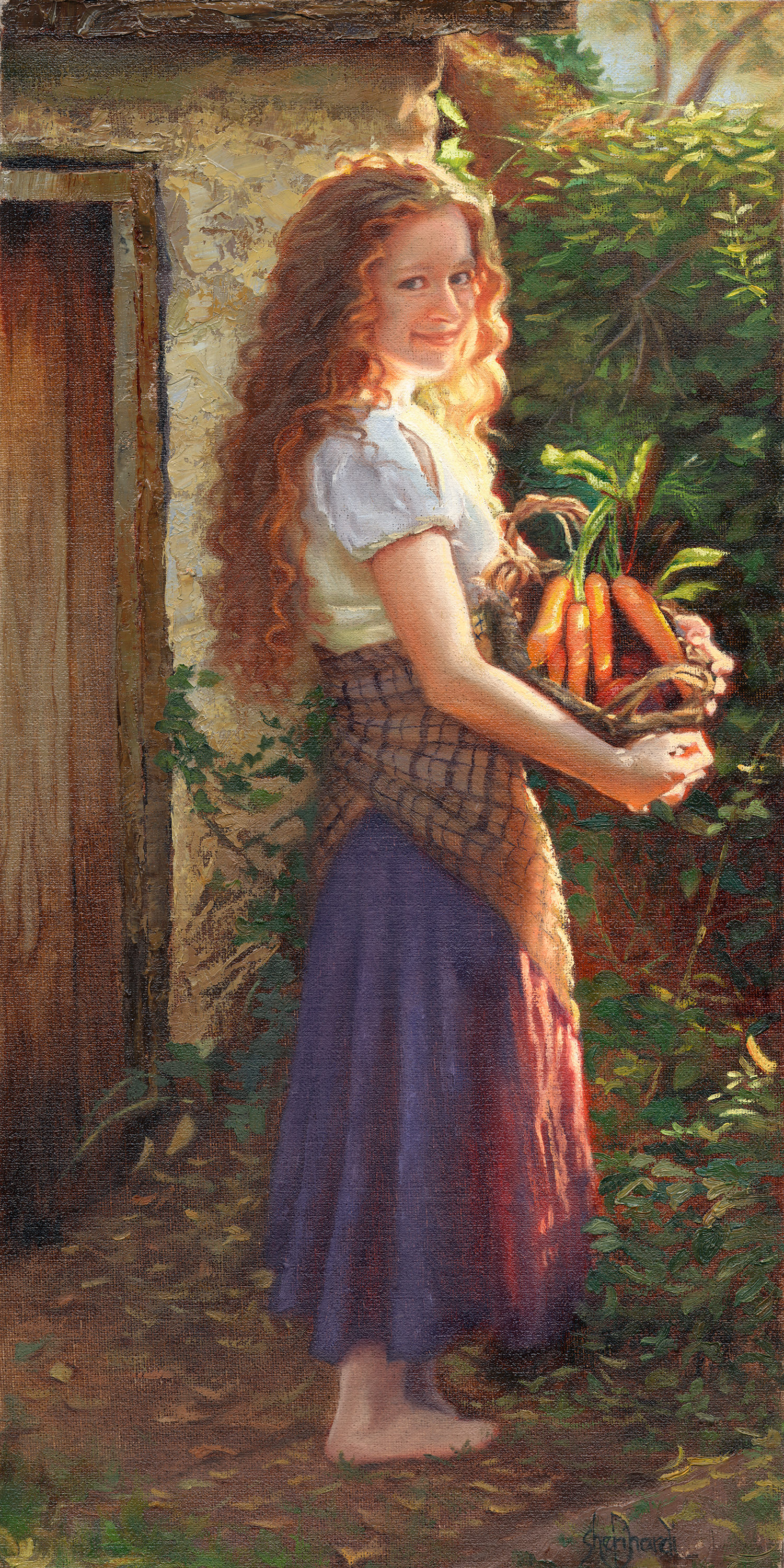 Harvest Joy  - 20 x 10 Oil on Linen - private collection
