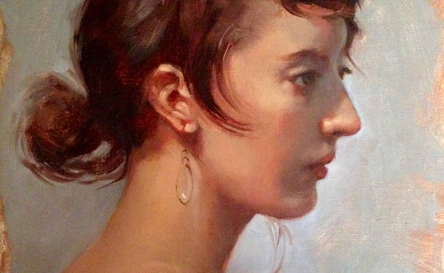 Girl with a Crystal Earring