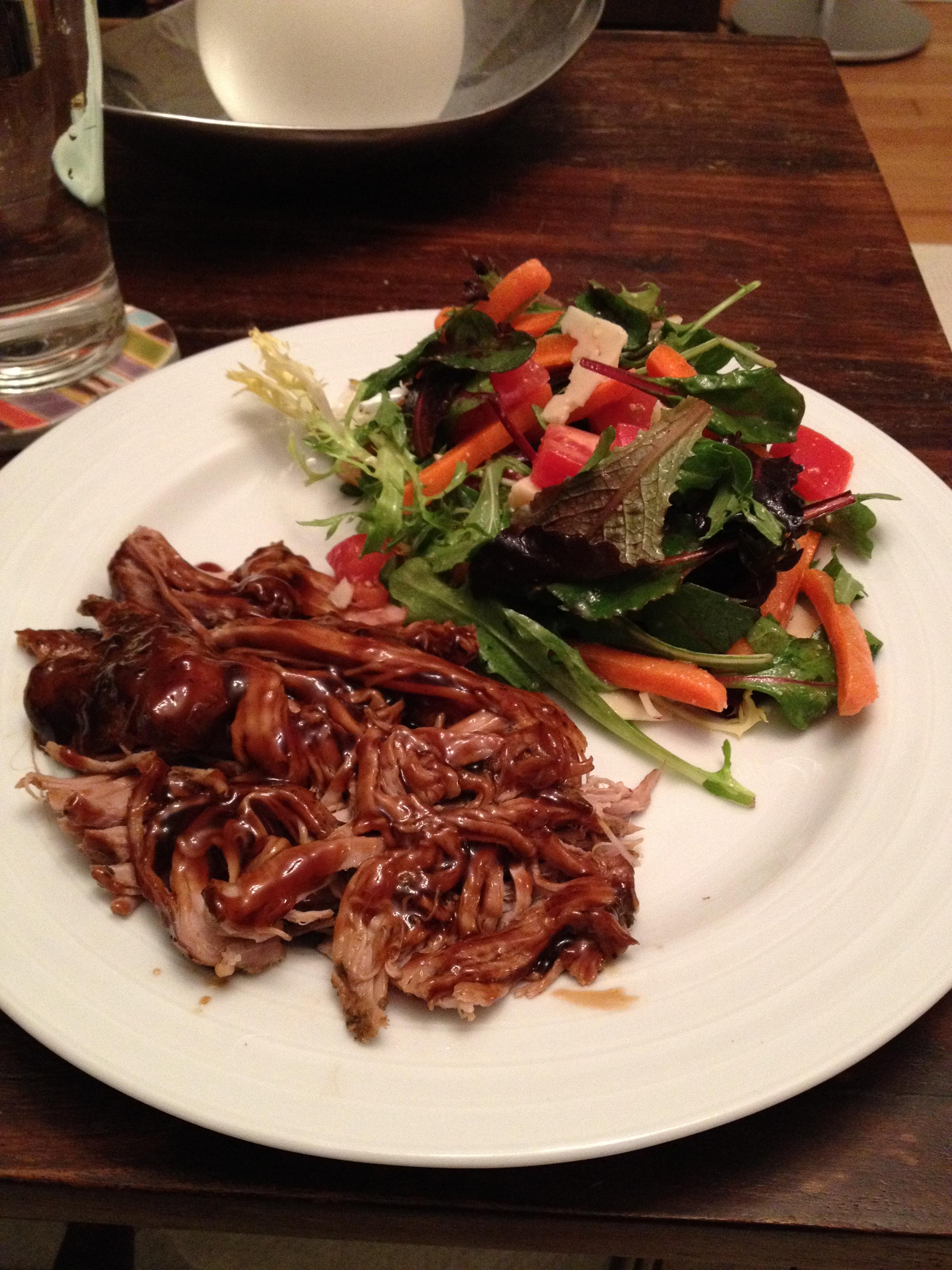 balsamic glazed pork