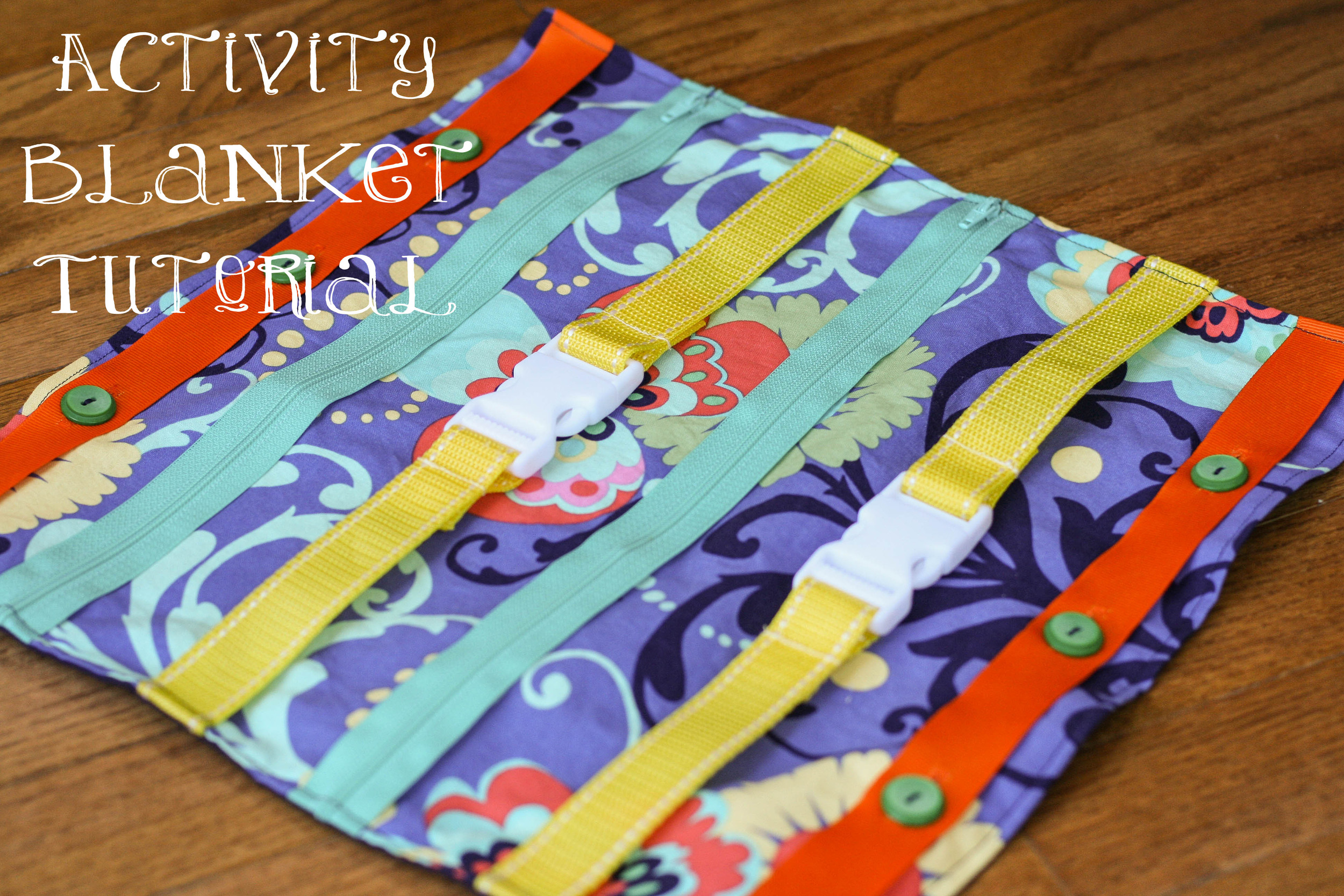 activity blanket tutorial