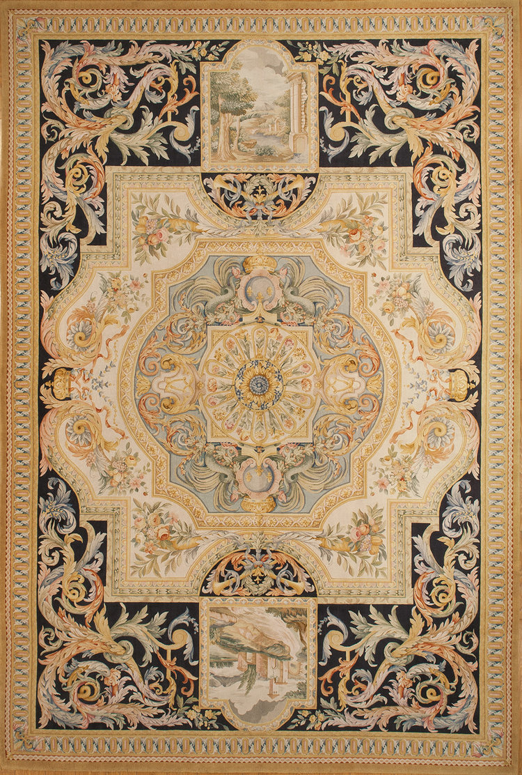 Large Savonnerie Rugs And Carpets