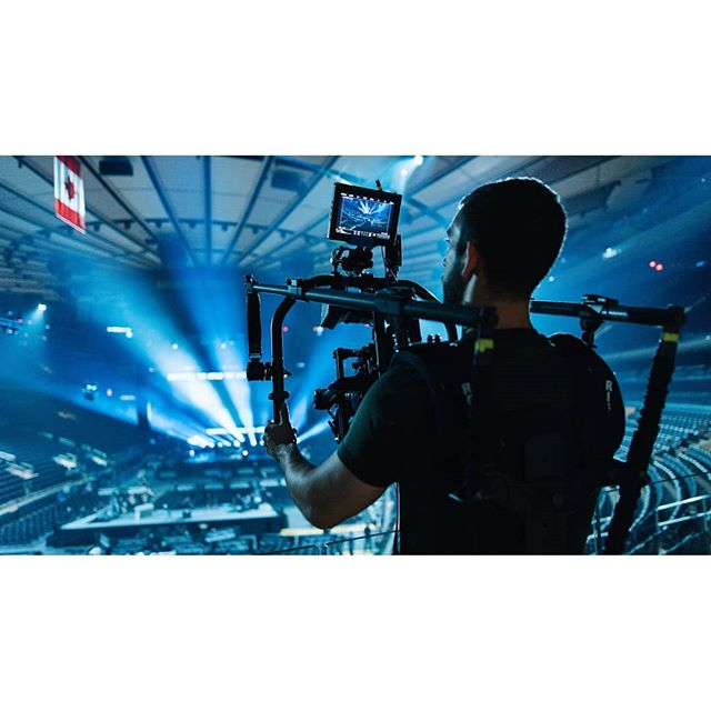 Tuesday's concert shoot at Madison Square Garden as a Movi Pro operator with Red Epic-W and Angenieux 15-40mm. Operated for basically 3 hours straight which was a challenge to say the least. There were 15 other Reds on this production which is wild.  Photo 1 & 3: @michellespalafox