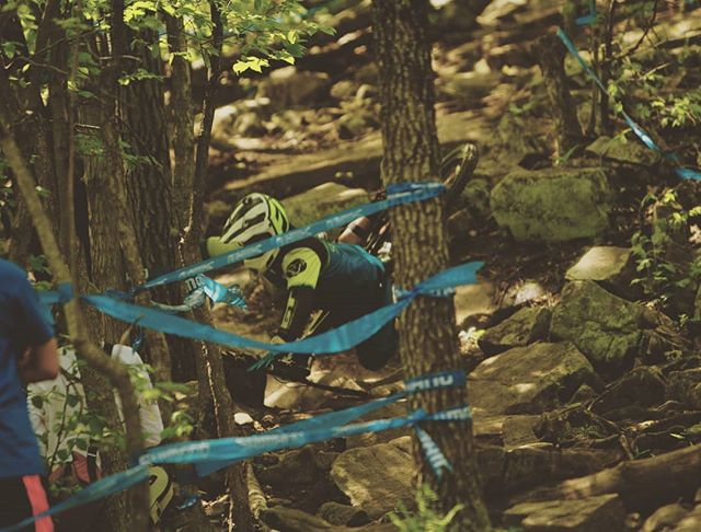 #thebikelery is open today 11am-7pm #gtcoalition #mountaincreekbikepark  #2019progrt #downhillmountainbike  Here is a great shot of #teambikelery crashing on the rock garden at this past weekends race at #mountaincreek in #vernonnj at the 2019 Pro GRT race run. My wheel broke at the seam and my tire blow out! #overthebars we go!