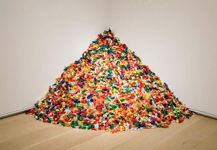 Felix Gonzalez-Torres,  Untitled (Placebo),  1991.  Andrea Rosen Gallery, New York
