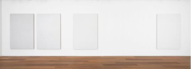 """Installation view of Roman Opalka's """"OPALKA 1965/1 - ∞"""""""